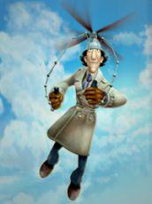 Inspektor Gadget, případ létajícího draka (2005)