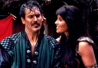 Bruce Campbell + Lucy Lawless