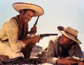 Eli Wallach, Clint Eastwood