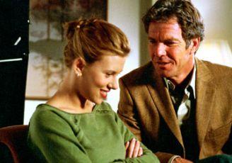 Dennis Quaid and Scarlett Johansson