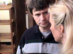 Jan Hrušínský a Kateřina Brožová