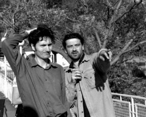 kameraman Marek Tichý a režisér Marcel Bystroň
