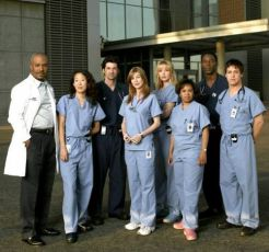 James Pickens + Sandra Oh + Patrick Dempsey + Elena Pompei + Katherine Heigl + Chandra Wilson + Isaiah Washington + T.R. Knight