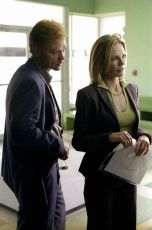 David Caruso  + Marg Helgenberger