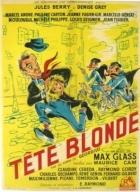 Blondýna v čele (Tête blonde)