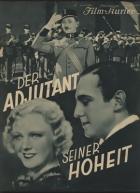 Pobočník jeho výsosti [německá verze] (Adjutant seiner Hoheit)