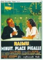 Půlnoc, náměstí Pigalle (Minuit, place Pigalle)