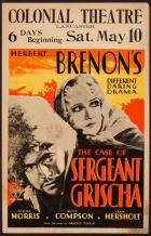 Spor o seržanta Gríšu (The Case of Sergeant Grischa)