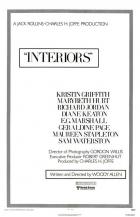 Interiéry (Interiors)