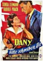 Dany, prosím napište! (Dany, bitte schreiben Sie)