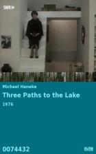 Drei Wege zum See