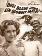 Drei blaue Jungs, ein blondes Mädel