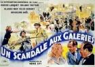 Skandál na galeriích (Un scandal aux galeries)