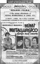 Kovodělník Mimi, zraněný ve své cti (Mimi metallurgico ferito  nell'onore)