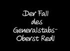 Aféra plukovníka Redla [německá verze]