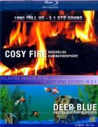 Cosy Fire / Deep Blue