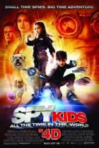 Spy Kids 4D: Stroj času (Spy Kids 4: All the Time in the World in 4D)