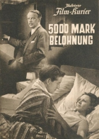 5000 marek odměny (Fünftausend Mark Belohnung)