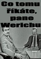Co tomu říkáte, pane Werichu