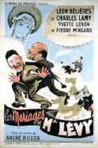 Vdavky slečny Lévyové (Les mariages de Mademoiselle Lévy)