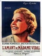 Milenec paní Vidalové (L'amant de Madame Vidal)
