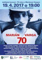 Marián Varga 70  – jubilejný koncert
