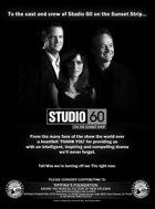 TV program: Studio 60 (Studio 60 on the Sunset Strip)