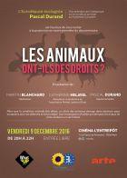 TV program: Mají i zvířata svá práva? (Les animaux ont ils des droits?)