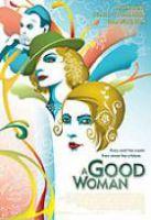 TV program: Vějíř lady Windermerové (A Good Woman)