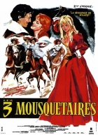TV program: Tři mušketýři (Les trois mousquetaires: I. Les Ferrets de la Reine,         II.  La vengeance de Milady)