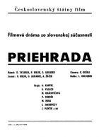TV program: Priehrada