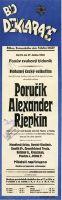 TV program: Poručík Alexander Rjepkin
