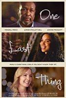 TV program: Ještě jedna věc (One Last Thing)
