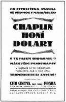 Chaplin honí dolary (Tillie's Punctured Romance)