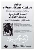 TV program: František Kupka (Symfonik barev a malíř kosmu)