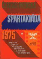 TV program: Československá spartakiáda 1975