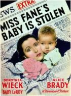 Miss Fane's Baby Is Stolen
