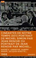 TV program: Jean Renoir (Cinéastes de notre temps: Jean Renoir le patron, la direction d'acteur réalisé par Jacques Rivette)