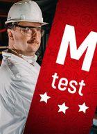 M test