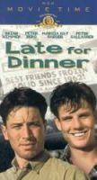 TV program: Pozdě k večeři (Late for Dinner)