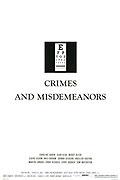 TV program: Zločiny a poklesky (Crimes and Misdemeanors)